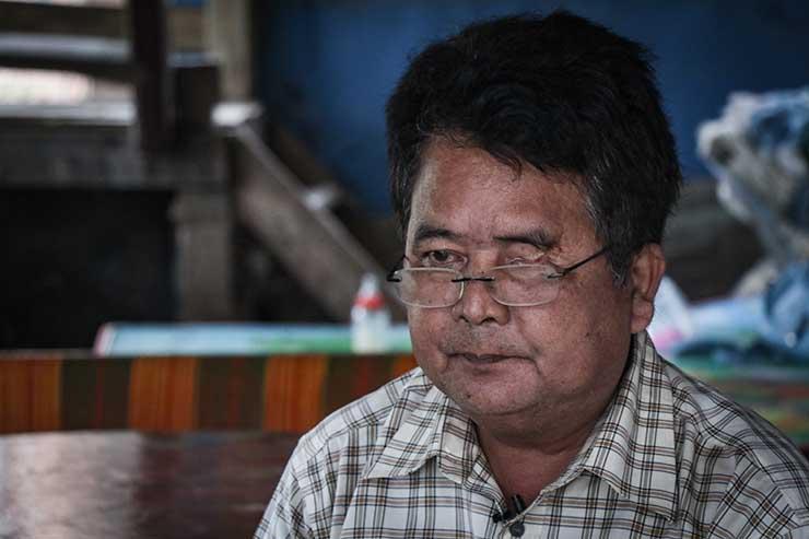 Portrait of Cheum Kom