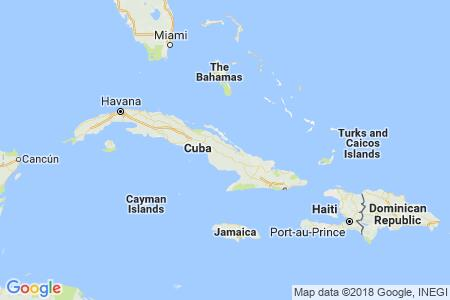FPO Cuba static map