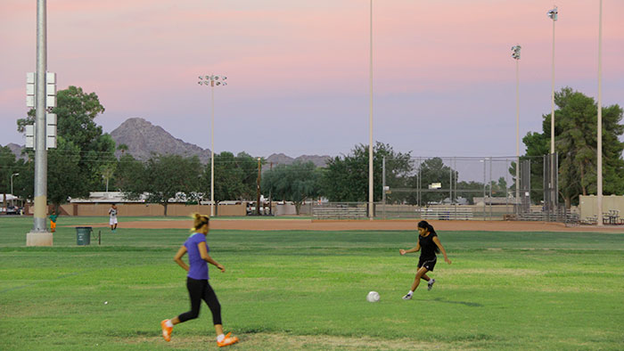 Screenshot for Born to Play: A Refugee Soccer Team Grows in the American Desert