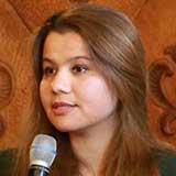 {Portrait of Humayra Bakhtiyar