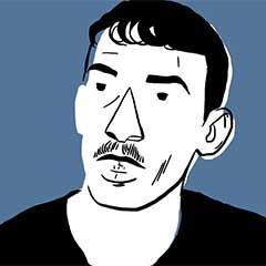 Illustrated portrait of Omar