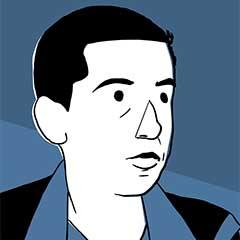 Illustrated portrait of Yahya